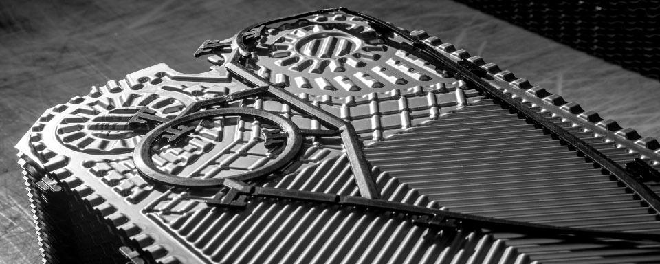 Juntas e gaxetas para trocadores de calor de placas