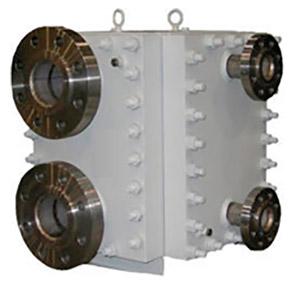 Trocador de calor de placas soldadas